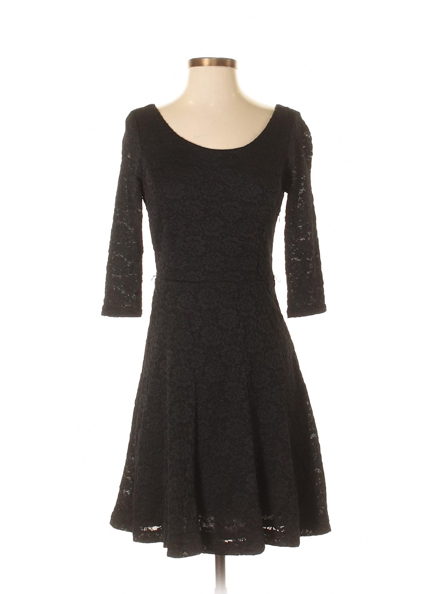 Market White Casual Dress House Boutique winter Black Cxf4qwR0gZ