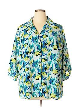 JMS Collection 3/4 Sleeve Blouse Size 3X (Plus)