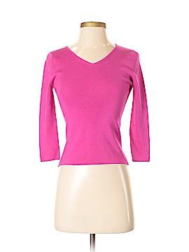 Neiman Marcus 3/4 Sleeve Silk Top Size S