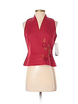 Donna Morgan Sleeveless Blouse Size 4 (Petite)