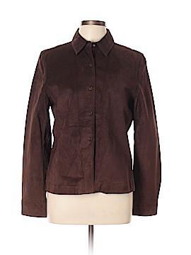Ann Taylor LOFT Leather Jacket Size L