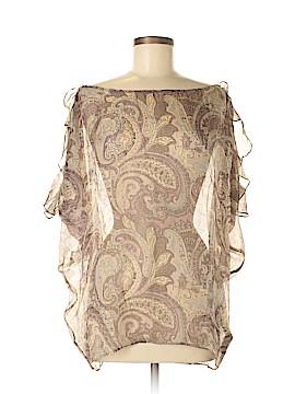 Love 21 Short Sleeve Silk Top Size M