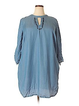 Crown & Ivy Casual Dress Size 2X (Plus)