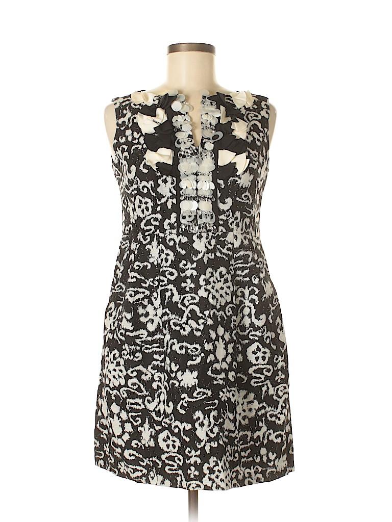 2d6c69c07d2e Nanette Lepore Print Black Casual Dress Size 6 - 83% off | thredUP