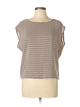 Twenty One Short Sleeve Silk Top Size M