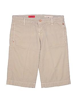 Adriano Goldschmied Khaki Shorts Size 28 (Plus)