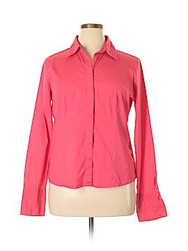 JG HOOK Long Sleeve Button-Down Shirt Size 18 (Plus)