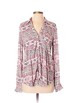 Maeve Long Sleeve Blouse Size S