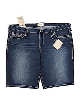Big Star Denim Shorts Size 36 (Plus)