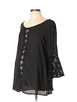 Olian Long Sleeve Blouse Size L (Maternity)