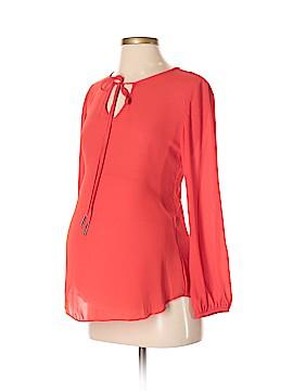Olian Long Sleeve Blouse Size XS (Maternity)