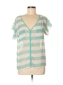 Paraella Short Sleeve Blouse Size M