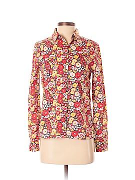 Kate Spade Saturday 3/4 Sleeve Button-Down Shirt Size XS