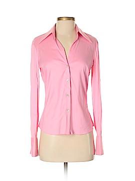 Trina Turk Long Sleeve Button-Down Shirt Size S