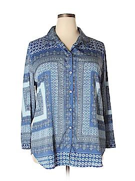 Hannah Long Sleeve Blouse Size 2X (Plus)