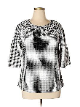 Como Vintage 3/4 Sleeve Button-Down Shirt Size XL