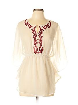 Fashion Spy 3/4 Sleeve Blouse Size L