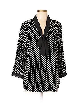 Allegra K Long Sleeve Blouse Size XL