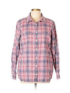 L.L.Bean Long Sleeve Button-Down Shirt Size XL