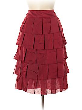 Carmen Marc Valvo Silk Skirt Size 12
