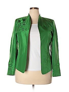 Peck & Peck Silk Blazer Size 14