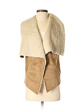 Celebrity Pink Faux Fur Vest Size M
