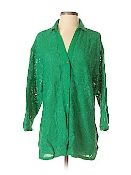 Akemi + Kin 3/4 Sleeve Button-Down Shirt Size XS