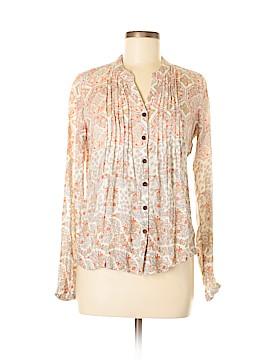 PrAna Long Sleeve Blouse Size S