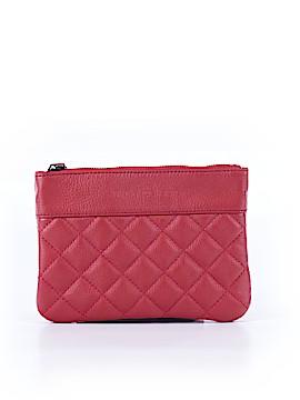 Paul Joe Sister Leather Clutch One Size