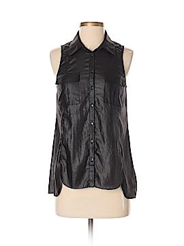 Guess Sleeveless Button-Down Shirt Size XS