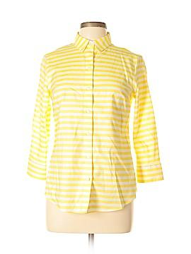Jones New York Short Sleeve Button-Down Shirt Size S