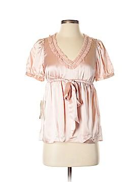 Betsey Johnson Short Sleeve Blouse Size 6