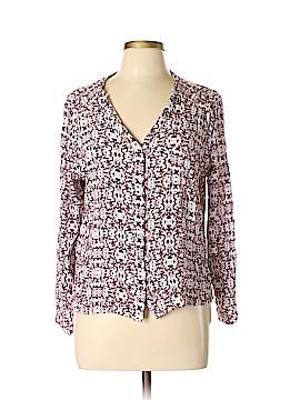 Alythea Long Sleeve Button-Down Shirt Size L