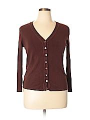 LOULOU Women Cardigan Size 1X (Plus)