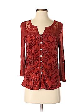 Vintage America Blues Long Sleeve Button-Down Shirt Size XS