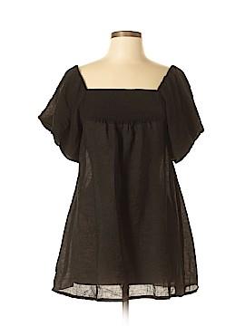 Gracia Fashion Short Sleeve Blouse Size M