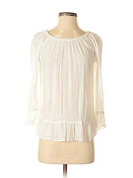 INC International Concepts 3/4 Sleeve Blouse Size XS