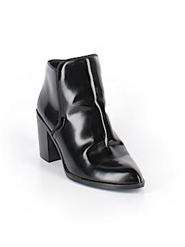 Zara Basic Ankle Boots Size 38 (EU)