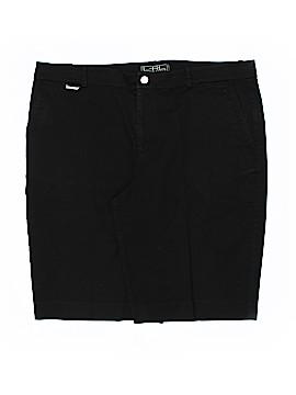 L-RL Lauren Active Ralph Lauren Khaki Shorts Size 14