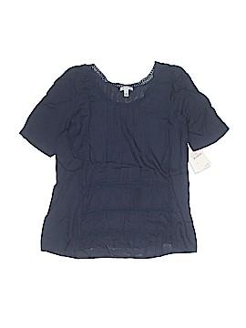 Susina Short Sleeve Blouse Size XS