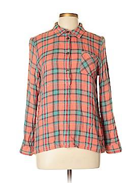 Matilda Jane Long Sleeve Button-Down Shirt Size L