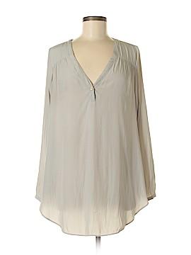 Calypso St. Barth Long Sleeve Blouse Size Med (1)