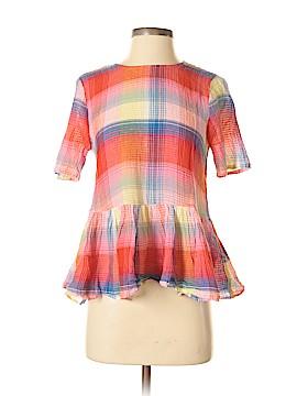 Zara Short Sleeve Blouse Size XS