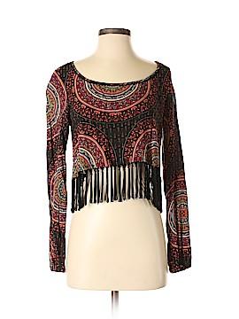 Gypsy Warrior Long Sleeve Blouse Size M