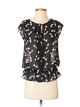 Glamour Short Sleeve Blouse Size S