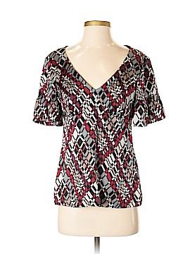 Trina Turk Short Sleeve Silk Top Size 2