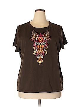 Liz Claiborne Short Sleeve T-Shirt Size 2X (Plus)