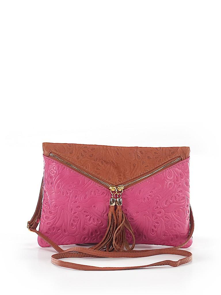 Pin It Vera Pelle Women Leather Crossbody Bag One Size