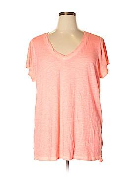 A.n.a. A New Approach Short Sleeve T-Shirt Size 1X (Plus)
