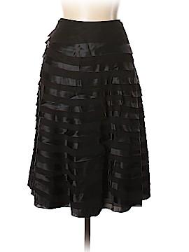 Les Copains Silk Skirt Size 46 (IT)
